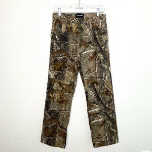 Realtree Camo Double Knee Jeans Hunting Outdoors